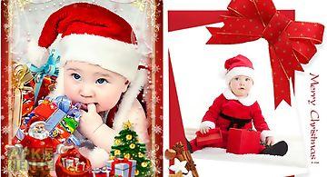christmas photo frames app