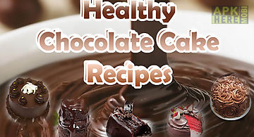 Healthy chocolate recipes - cake..