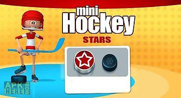 Mini hockey: stars