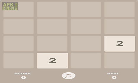 New 2048 for Android free download at Apk Here store - Apktidy com