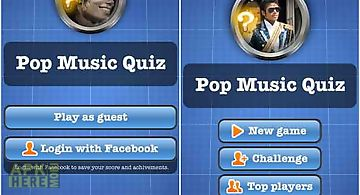 Pop music quiz free