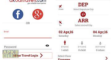 Akbartravels - flight search