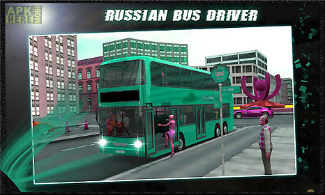 russian bus driver - shuttle