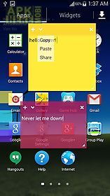 Sticky notes for Android free download at Apk Here store