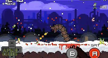 Super mega worm vs santa 2