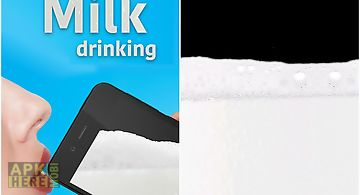 Virtual milk drinking