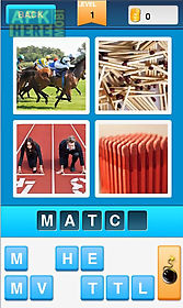 4 pics 1 word - guess words