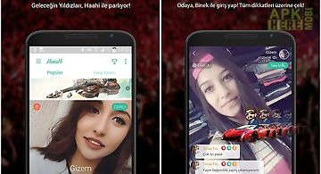 Haahi - live stream video chat