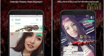Haahi - live stream video chat