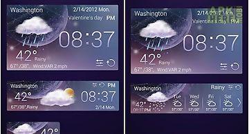 Purplenight theme go weatherex