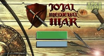 Total medieval war: archer 3d