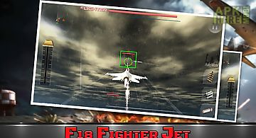 Angry flying jet air war 3d
