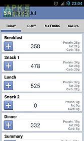 calorie counter slim assistant