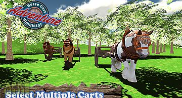 Horse cart adventure simulator