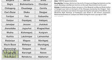 Maps of bangladesh