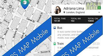 Gps map mobile