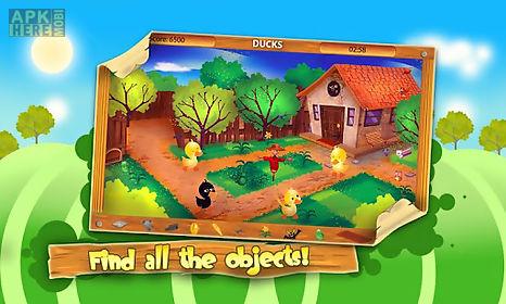 hidden objects: animal farm
