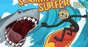 Stickman surfer