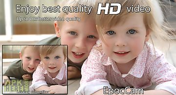 Epoccam wireless pc webcam