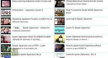 Learn speak japanese