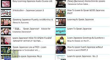 Learn speak japanese