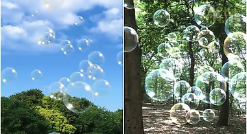 Soap bubble livewallpaper free