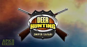 Deer hunting sniper safari: anim..