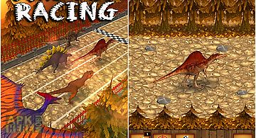 Dino pet racing game: spinosauru..