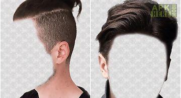 Men hairstyles photo montage