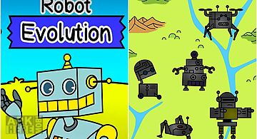 Robot evolution: clicker game