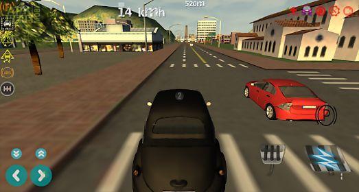 limousine city driving 3d