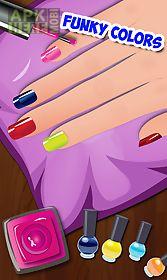 nail art dress up salon