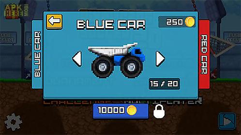 pixel cars: soccer