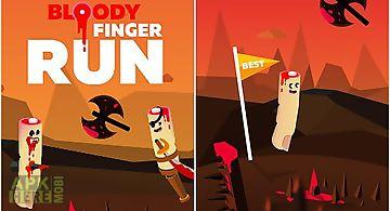Bloody finger run