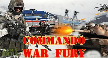 Commando war fury action