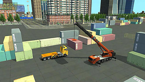 construction and crane simulator 2017