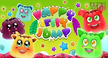Happy jump jelly: splash game