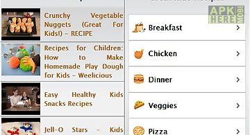 Kids recipes ultra k