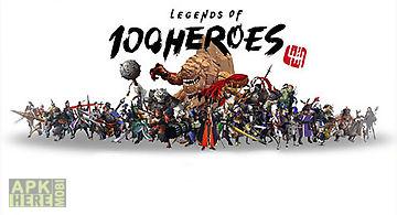 Legends of 100 heroes