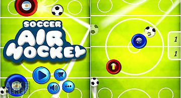 Soccer air hockey