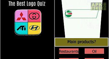 The best logo quiz