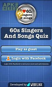60s singers and songs quiz free