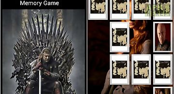 Game of thrones - memory
