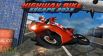 Highway bike escape 2016