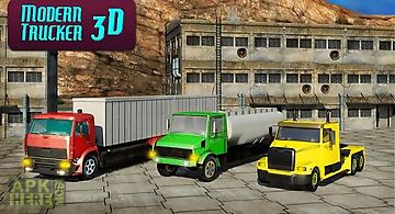 Modern trucker 3d