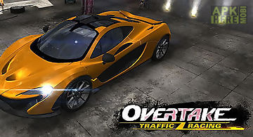 Overtake: car traffic racing