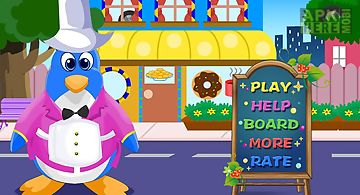 Penguin restaurant games