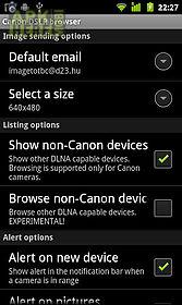 canon dslr browser