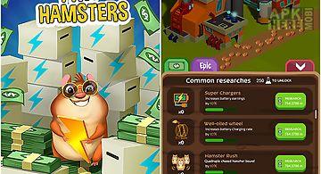 Tiny hamsters: idle clicker
