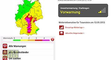 Unwetterradar deutschland app
